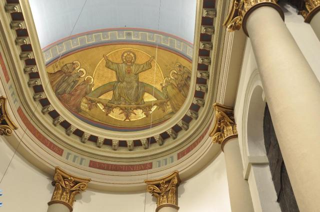 de absis van de St.Antoniuskathedraal