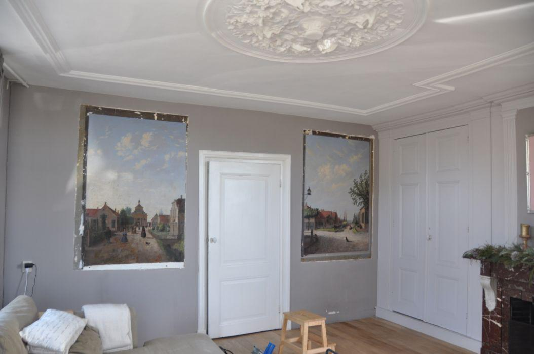 Muurschildering Waspik 1