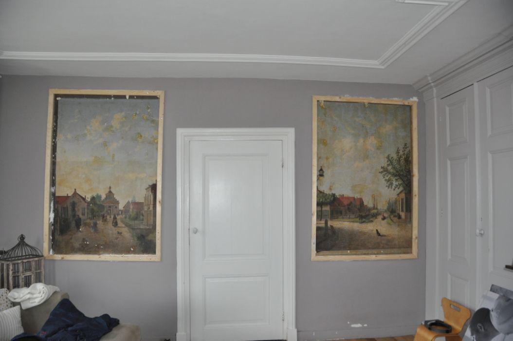 Muurschildering Waspik 2