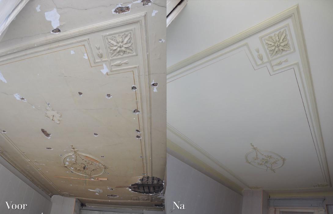 Plafond verwerstraat